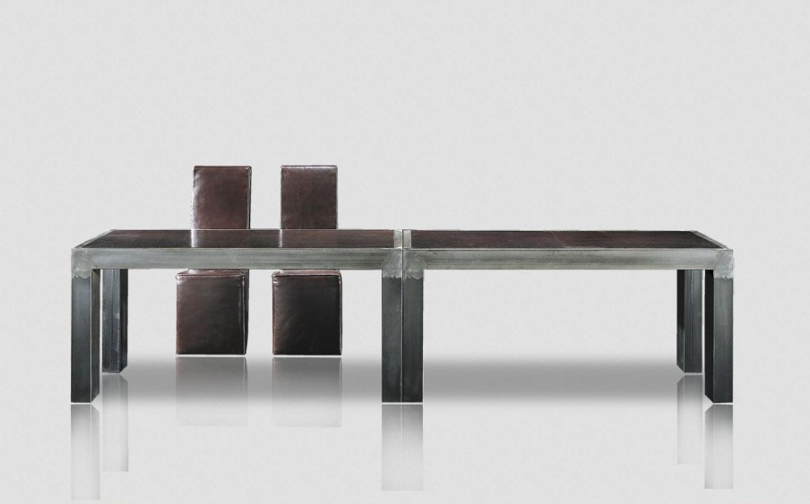 Dining table on a metal frame Morfeo, Baxter - Luxury furniture MR