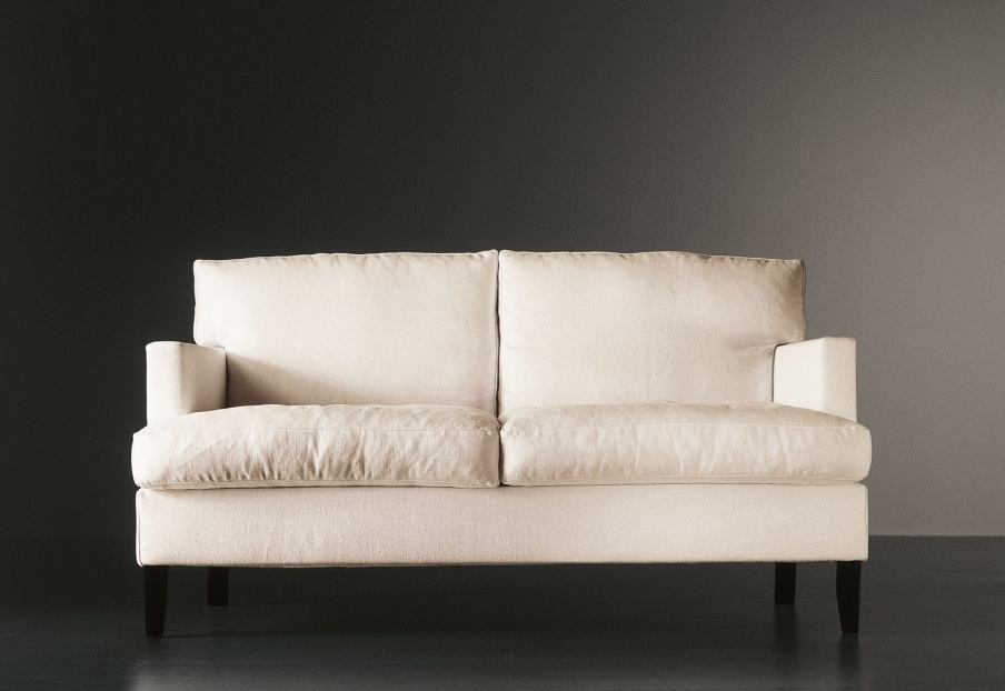 double gabin sofa with a frame made of wood meridiani. Black Bedroom Furniture Sets. Home Design Ideas