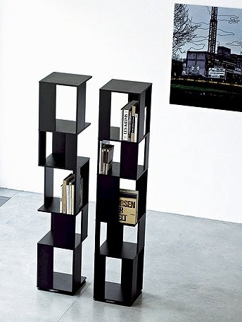 The book rack on a frame of wood Cubic, Bonaldo