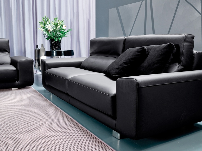 Sofa Bed Double Leather Upholstered, Double Leather Sofa Bed
