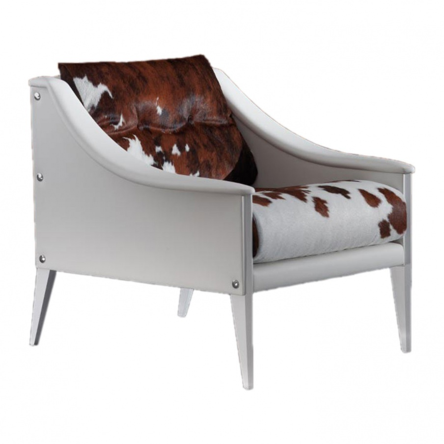 Armchair With Low Armrests Dezza Poltrona Frau Luxury