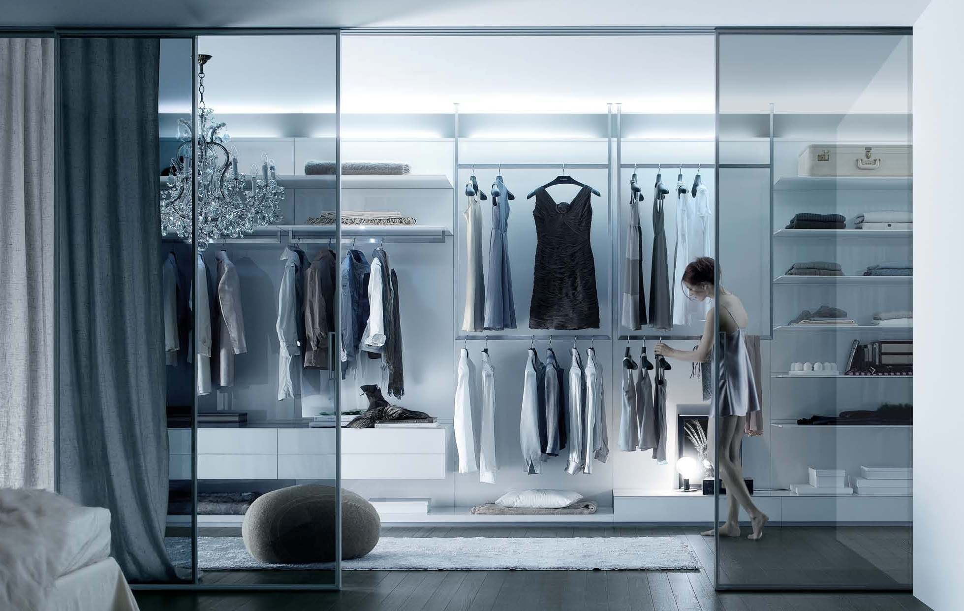Where are modern dressing - A Dressing Room In A Modern Style Rimadesio