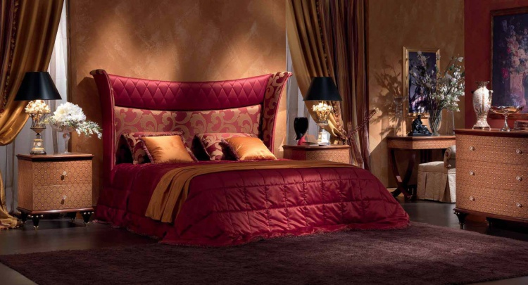 Double bed, Busnelli Adamo