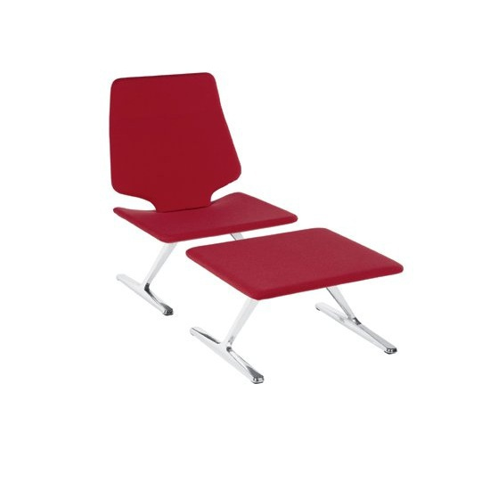 Chair with Ottoman for your legs, Alias