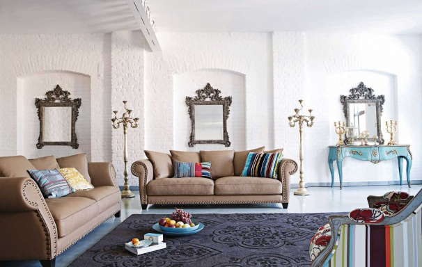 The modular sofa Chester-Chic
