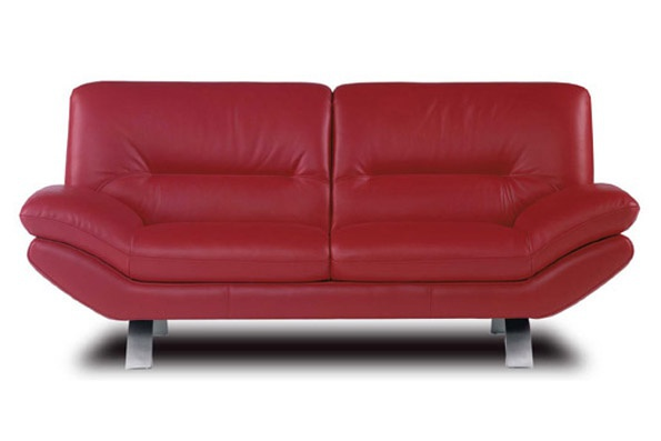 Two Seater Sofa Without Armrests Metal