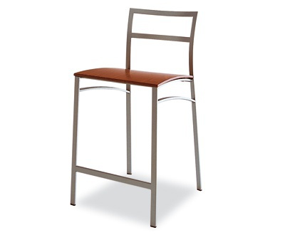 Bar Stool With Footrest, Calligaris