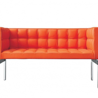 Sofa With Steel Frame Filled With Polyurethane Foam And
