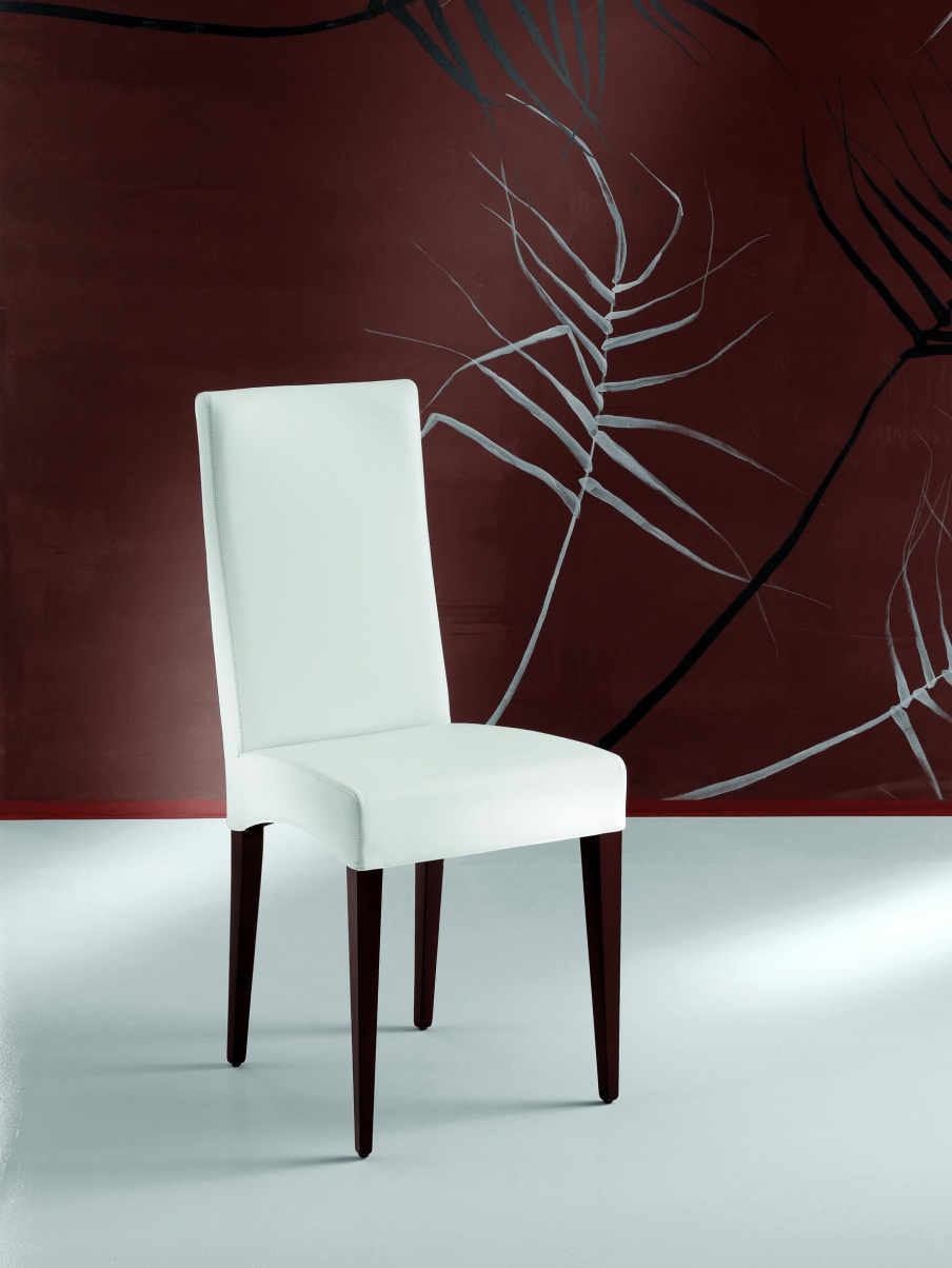 A chair on metal base Betty, Cattelan Italia - Luxury furniture MR - Chair with high back Cindy, Cattelan Italia