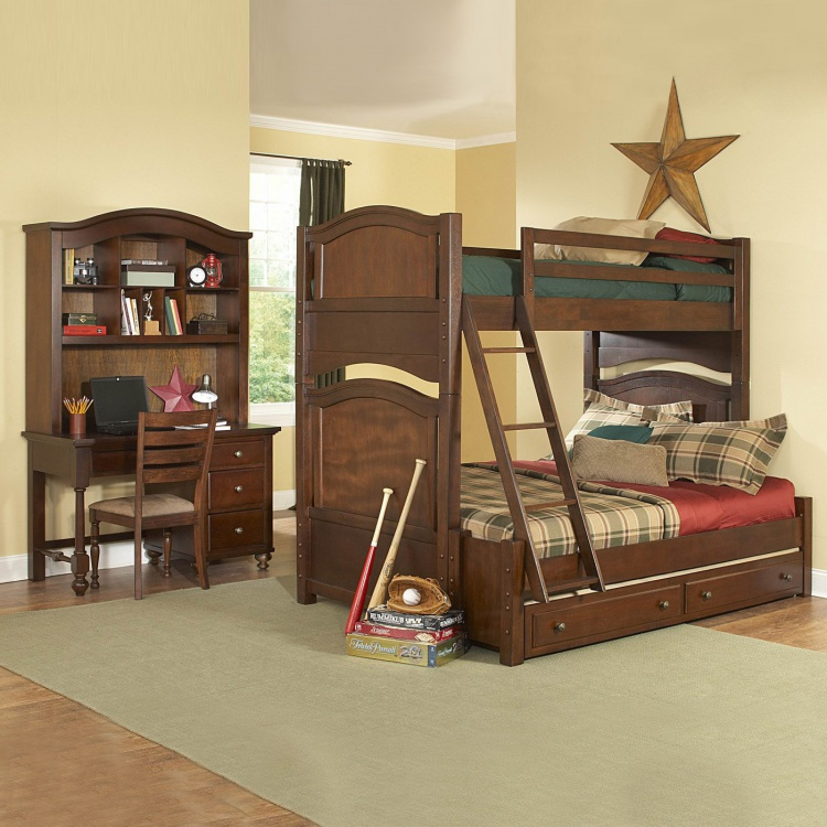 Children's bed, Aris Bunk Bedroom - Atlas