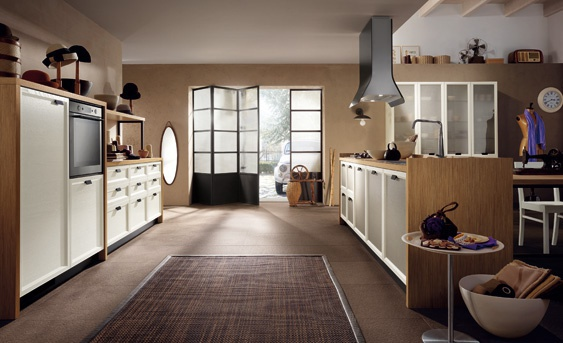 Kitchen (kitchen set) Scavolini, Atelier