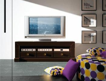Elegant and reliable spanish tv stands will complement a - Ebanisteria zaragoza ...