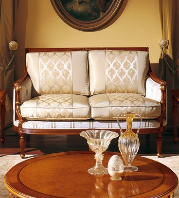 Two Seater Sofa Vivaldi Colombo Mobili Luxury Furniture Mr