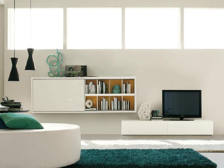 Attractive Modular Storage System For Books And TV, San Giacomo