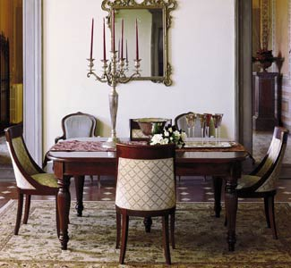 Dining rectangular table, DOLFI