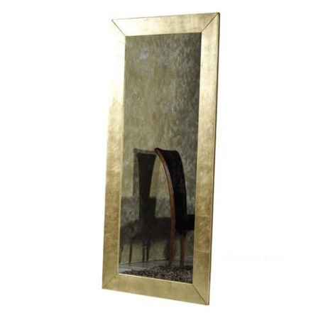 Mirror with frame of wood Annibale Colombo, Annibale Colombo