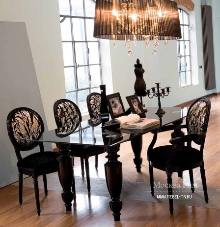 Dining room (dining set), Moda