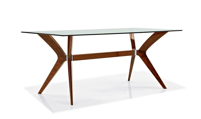 The tokyo glass dining table calligaris luxury furniture mr for Calligaris giuseppe