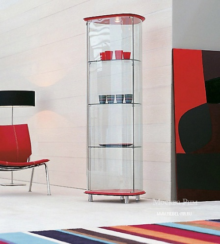 Showcase glass Shield, Cattelan Italia