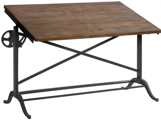 The Table Draftsman Iron Desk
