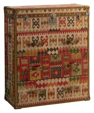 Dresser Kilim Chest of Drawers