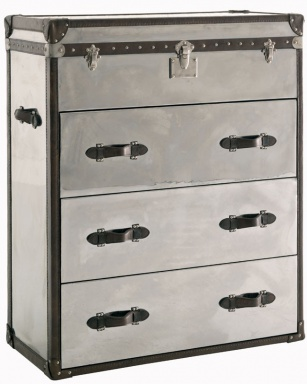 Chest Steel Brown Chest Of Drawers