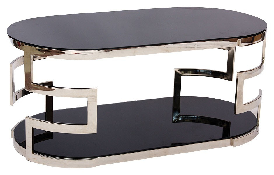 Table With Oval Tabletop, Visconti Coffee Table