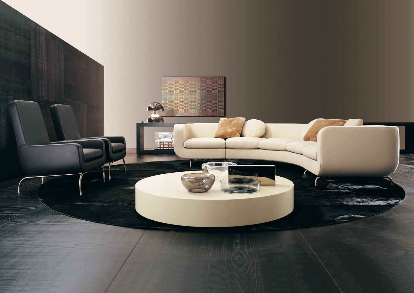 Modular sofa for relaxing dubuffet minotti luxury for Minotti outlet italy