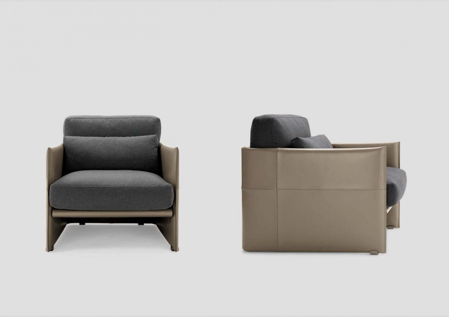 Seat luggage minotti luxury furniture mr for Minotti outlet italy