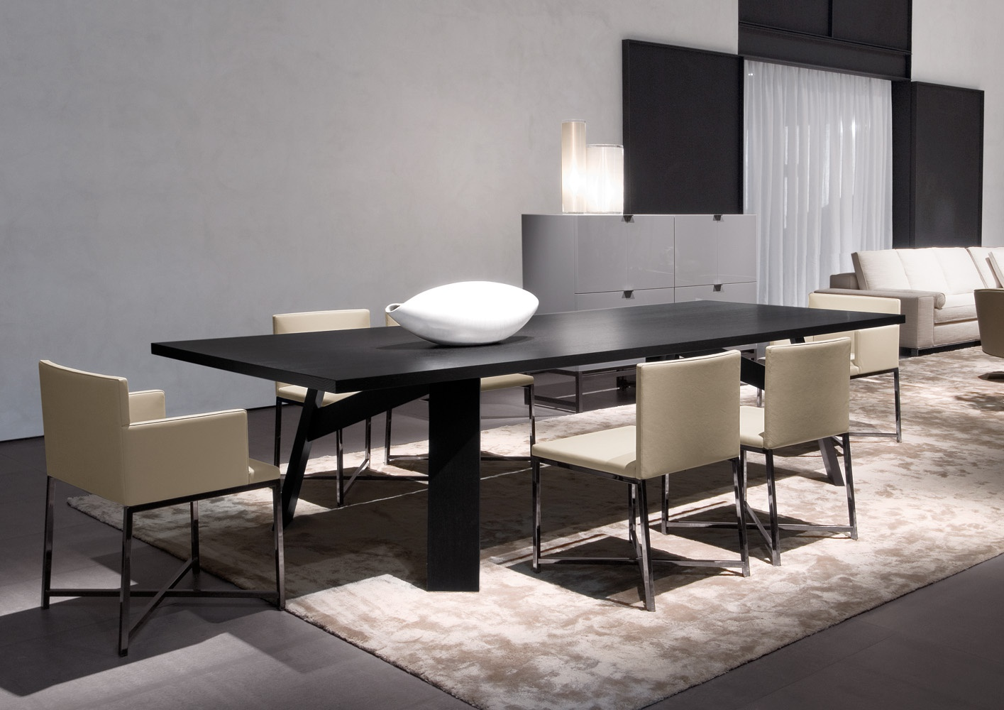 The Clark Table Minotti Luxury Furniture Mr