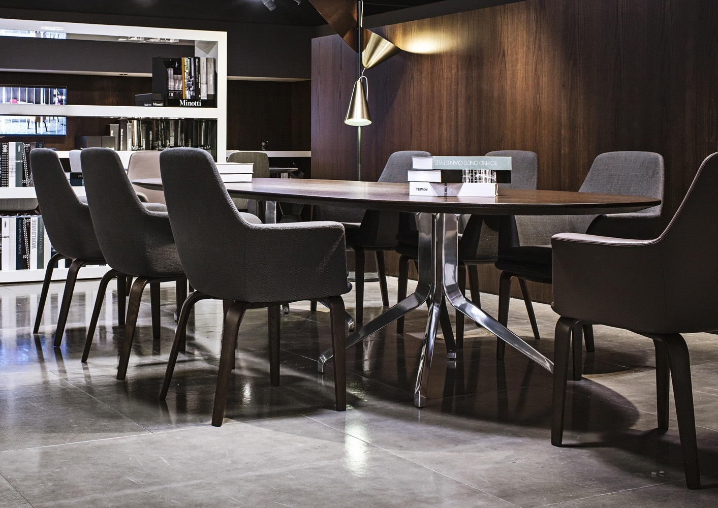 The claydon table minotti luxury furniture mr for Minotti outlet italy