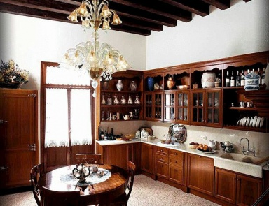 Set for the kitchen with overhead cupboards Classica, Faoma