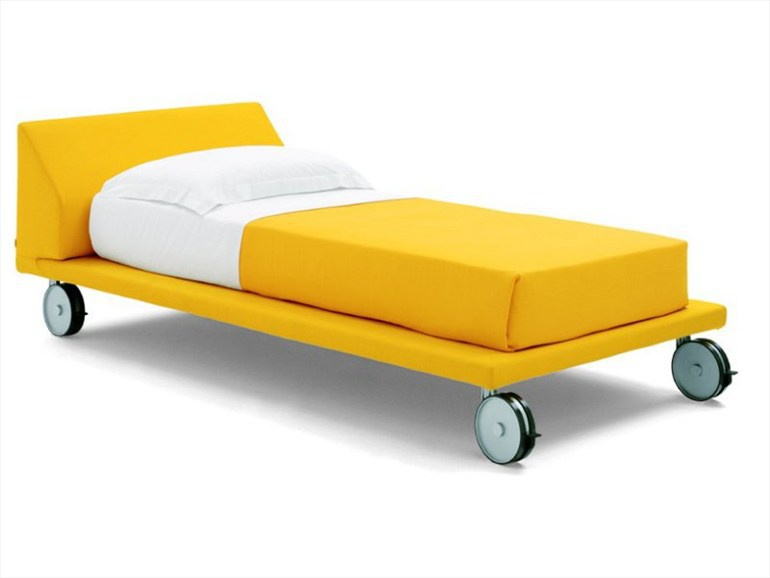 Single Bed Rolling Bed Zalf Luxury Furniture Mr