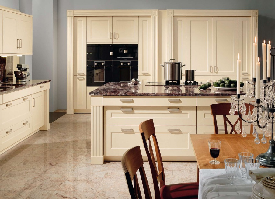 Kitchen Kitchen Set On A Frame Of Solid Wood With Built In