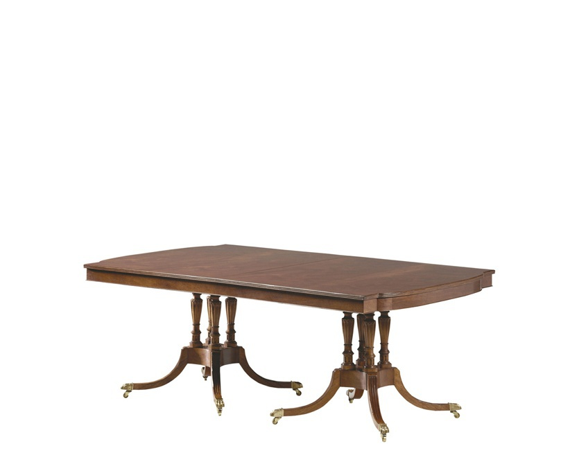 Rus Double Pedestal Dining Table