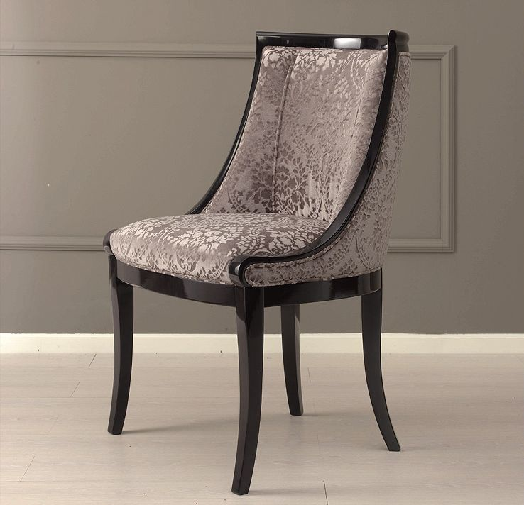 Chair made of solid ash Sophia Galimberti Nino & Chair made of solid ash upholstered in fabric Sophia Galimberti ...