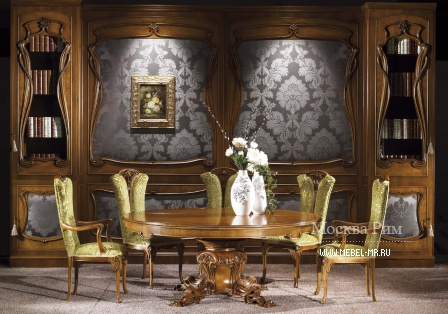 For Campanula dining room set, table, chair, C. L. Italia