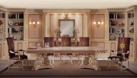 Dining room (dining set) from the manufacturer italijansko Ala Mobili