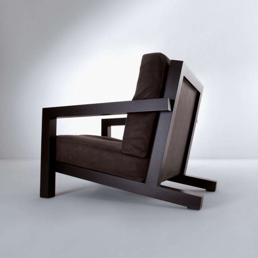 "Chair BD 21 ""Maxima"" wooden frame Laurameroni Luxury"