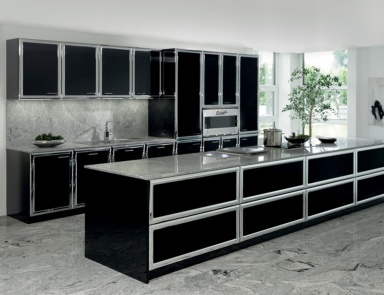 kitchen with an island – a modern solution for practical ...