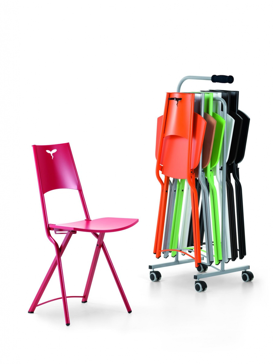 Mia folding chair, Cattelan Italia