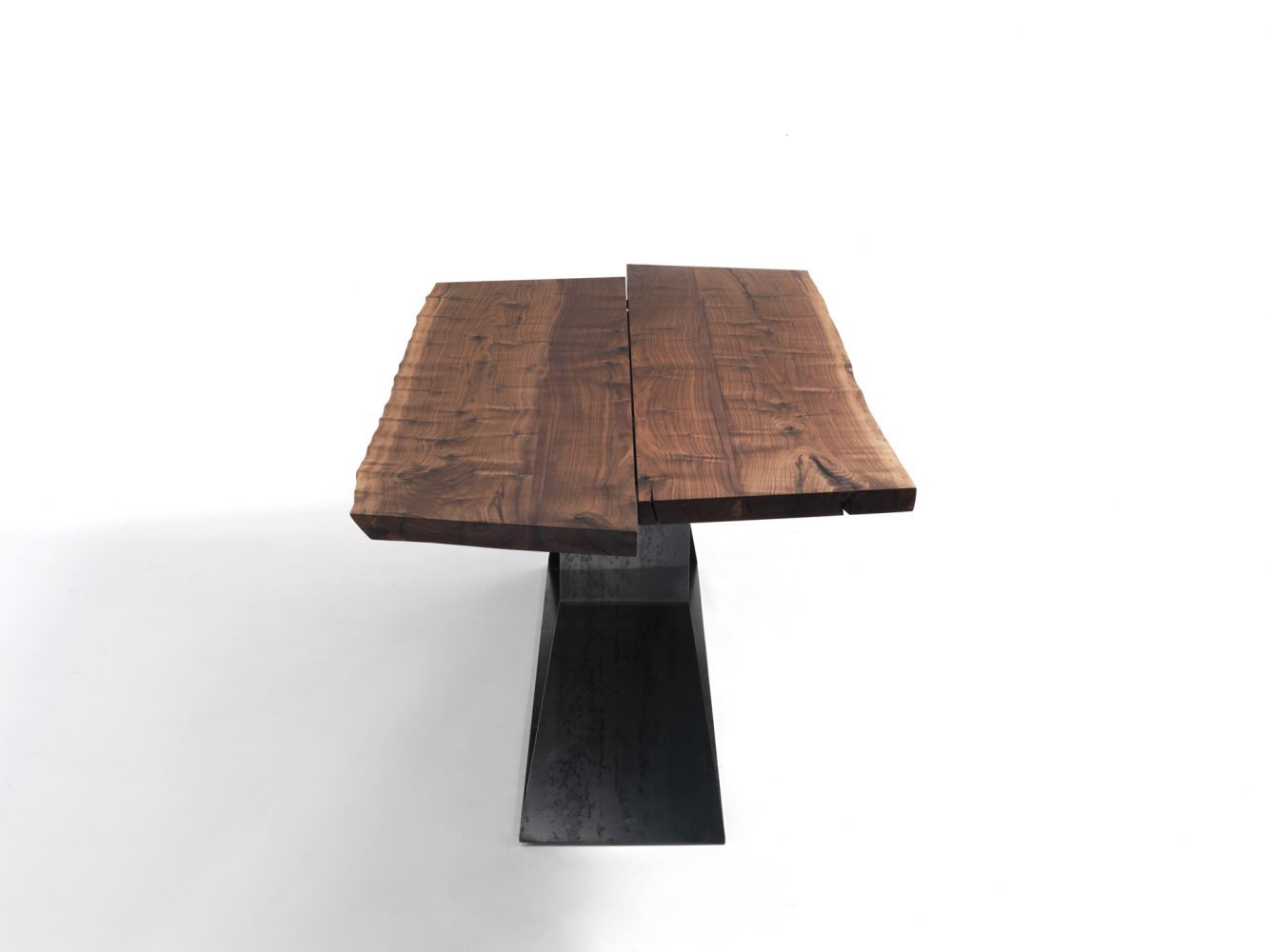 Dining table bedrock plank b riva 1920 luxury furniture mr for Table riva but