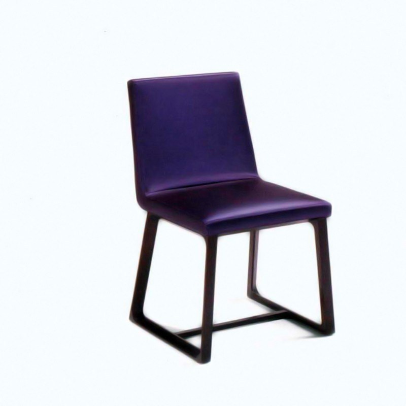 Chair Upholstered In Leather Or Fabric Arbat Mobileffe