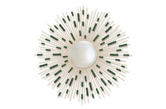 Sunburst Mosaic Mirror