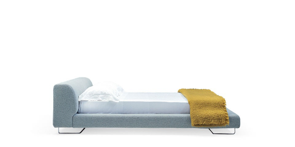 Double Bed In Wooden Frame Bed Lowland Moroso Luxury