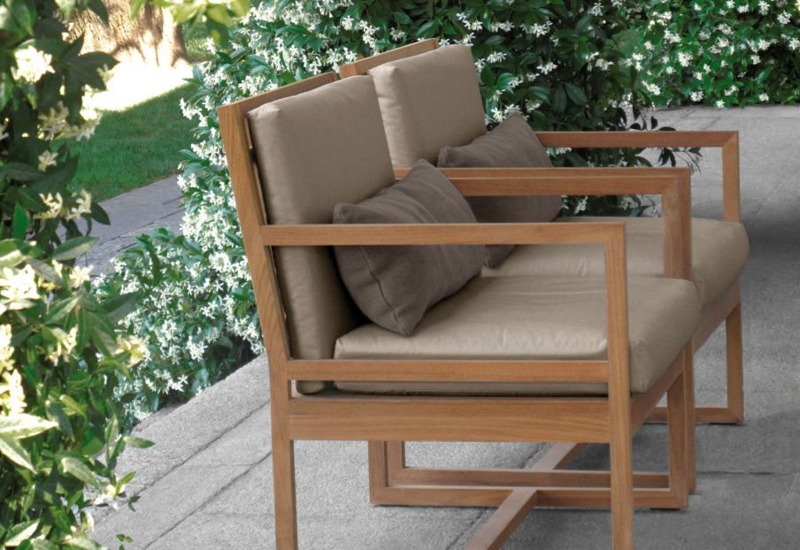 Chair for garden Square, Meridiani