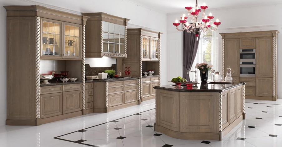Kitchen (kitchen set) Paris, FM Bottega D\'arte - Luxury furniture MR