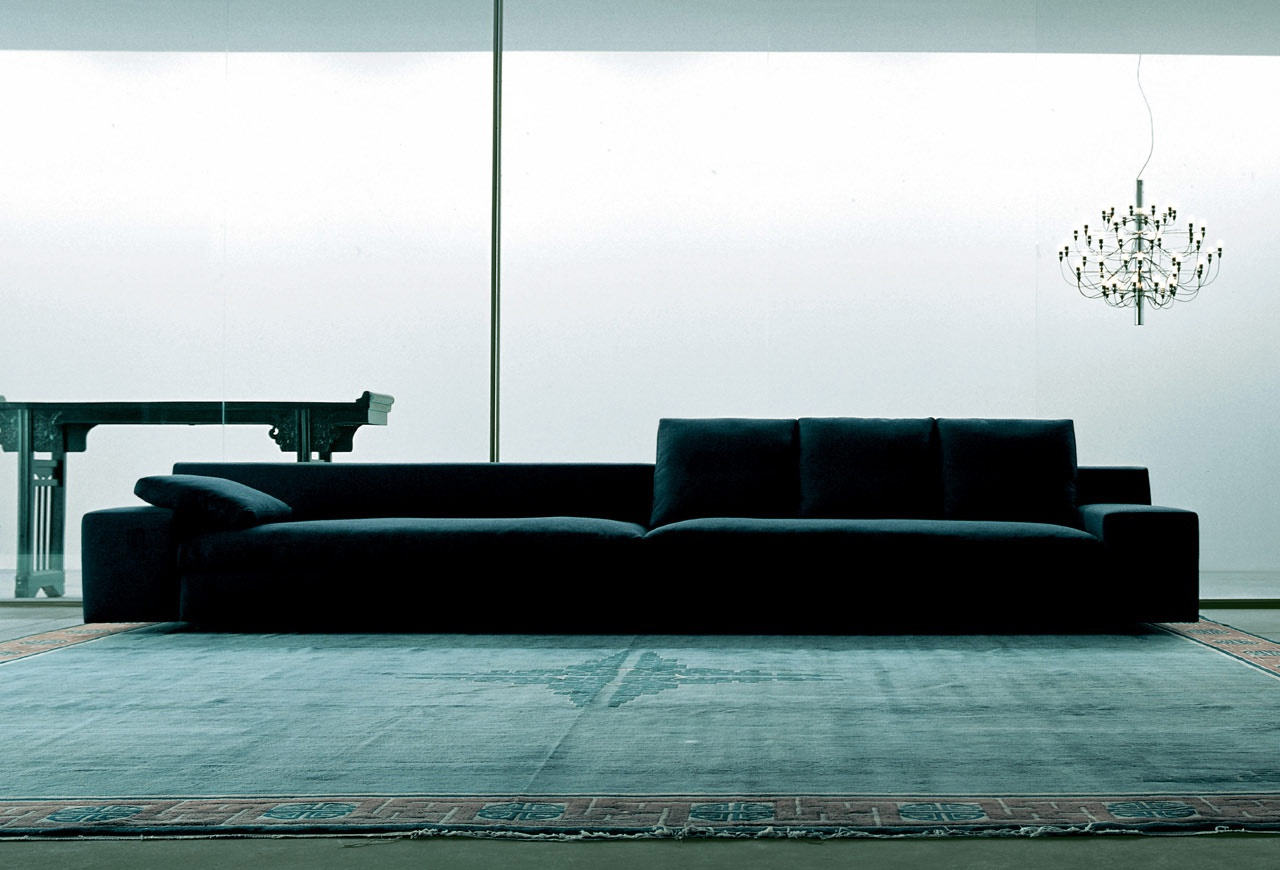 Mister Two Seater Sofa On A Metal Frame Cassina Luxury