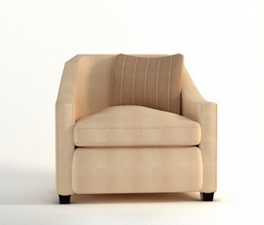 Chair Made Of Solid Wood On A Low Barbara Barry Luxury Furniture Mr