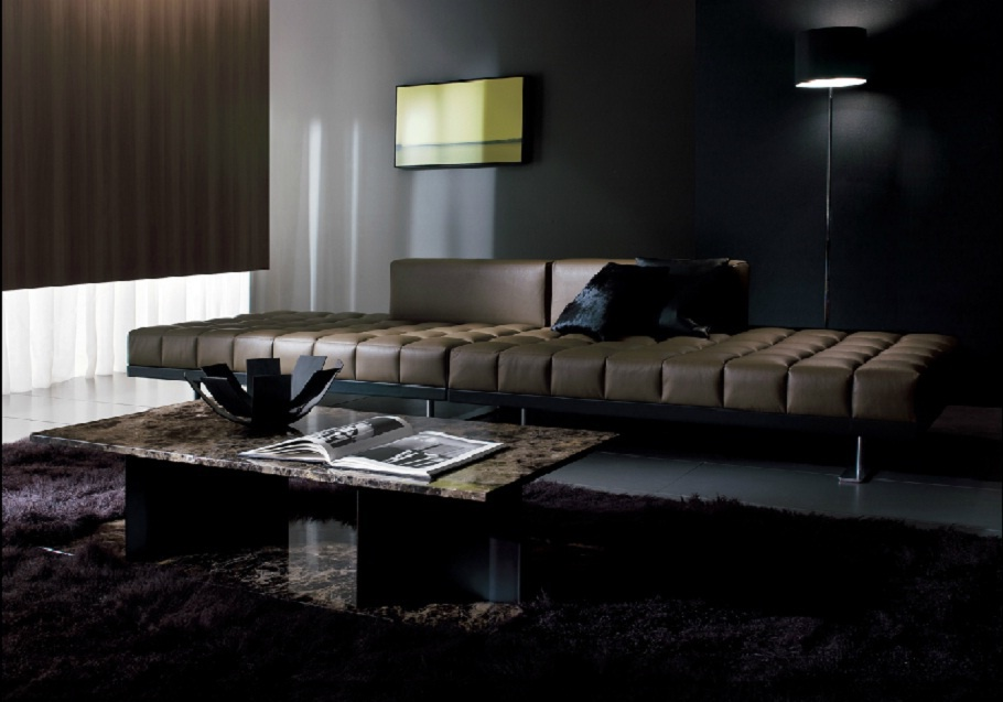 Double Sofa Insula I4 Mariani Luxury Furniture Mr